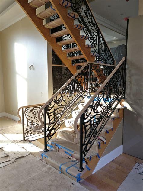 amityville long island dkp wood railings stairs