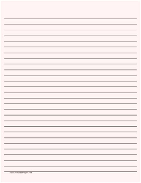 printable lined paper dark lines printable lined paper pale red wide black lines