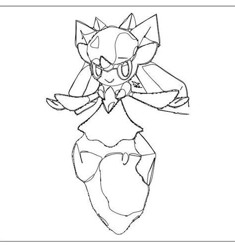 pokemon coloring pages diancie pin by jan pijl on pokemon x and y kleurplaten pinterest