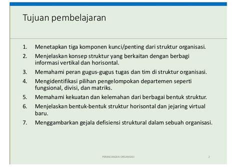 desain struktur organisasi formal desain struktur organisasi kuliah 2 ompi
