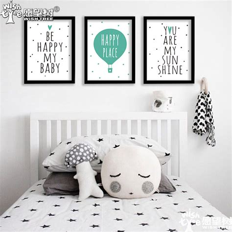 aliexpress buy wall poster be happy posters