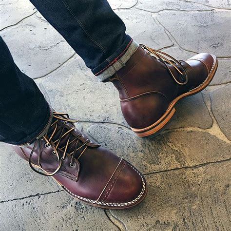 truman boot company color  chromexcel boot owner