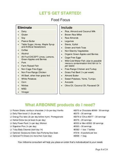 Arbonne Detox Meal Plan by 30 Days To Feeling Fit Guide Arbonne Want Safe