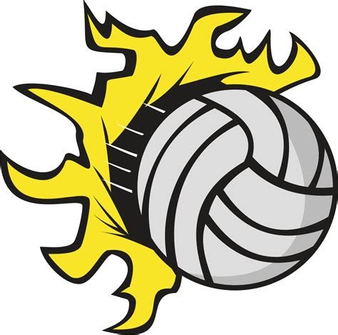 clipart volleyball flaming volleyball clipart clipart panda free clipart