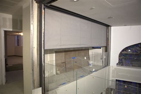 us smoke and fire curtain sd240gs 2 3hr fire protective smoke curtain