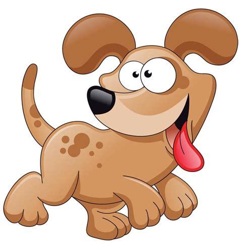 cartoon dog characters vector