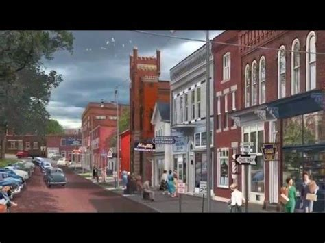south diamond street mercer, pa 1953 youtube