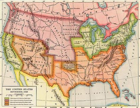 map of the united states in 1850 the united states september 1850