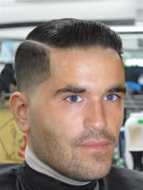 military haircut side part men hair haircut beard razor hair parting pinterest
