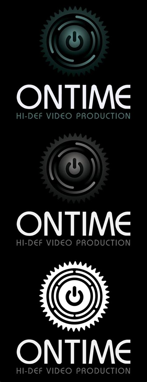 Ontime Video Production Logo Template By Xstortionist On Deviantart Production Logo Templates