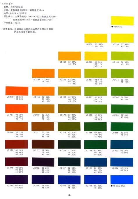 matching colors color guide color matching guide jujo chemical co ltd