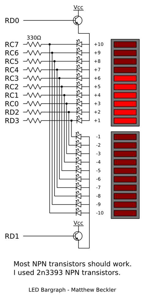 led bar graph resistors led bar graph resistors 28 images leds resistors technical explaination how to build an
