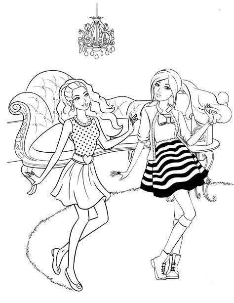 barbie 87 coloringcolor com