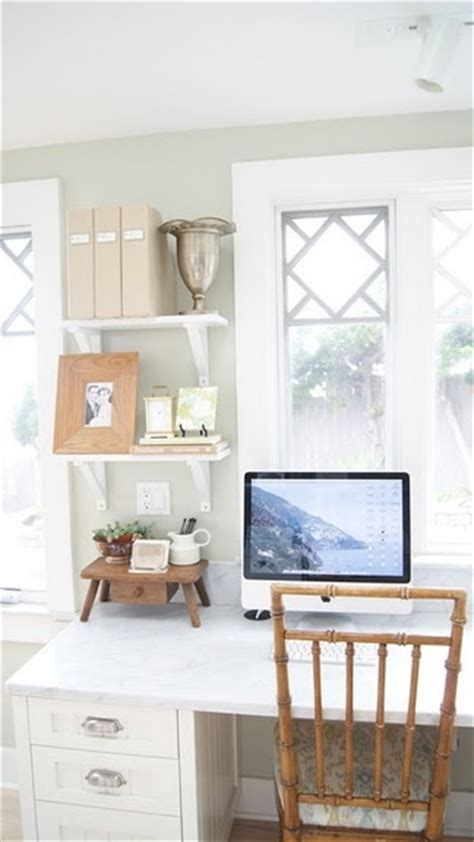 light and airy office space home organization paint colors room paint colors