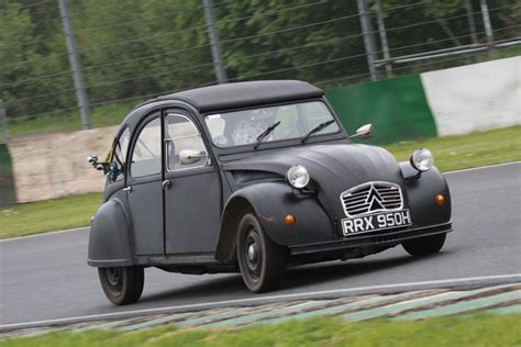 Citroen 2cv Engine by Citroen 2cv Receives Bmw Motorcycle Engines In The Uk