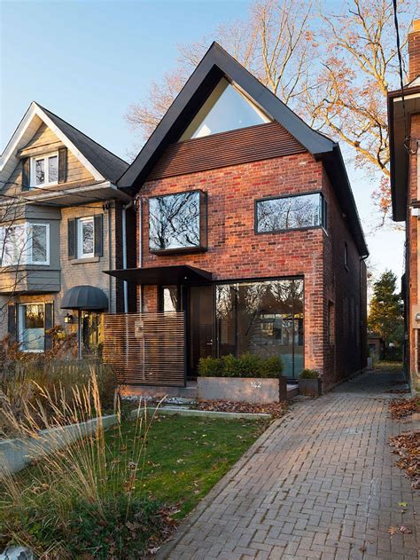 Home Design 1900 Square Feet early 1900s toronto home with a glassy modern renovation