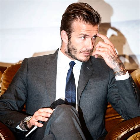 Beckham To With The by David Beckham A In Pictures Pictures