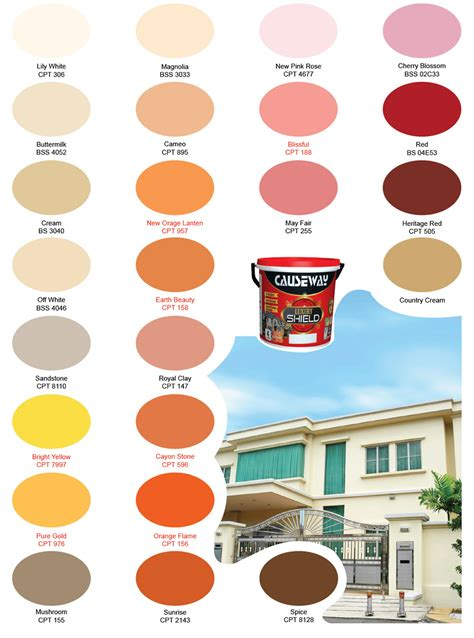 luxury shield exterior emulsion causeway paints