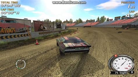 motocross race game flatout pc video game nascar style racing on dirt track