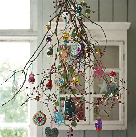 alternative christmas tree ideas upcyclist