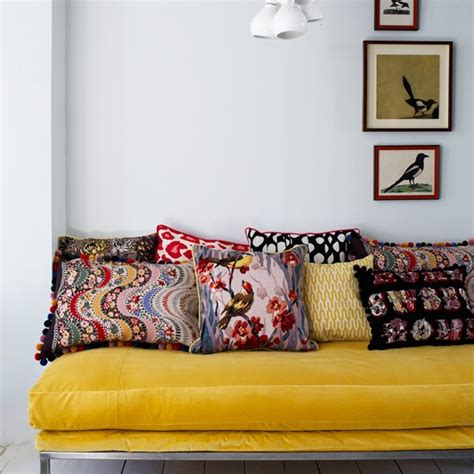 What Colour Walls With Grey Sofa by Living Room With Yellow Sofa And Grey Walls Grey And