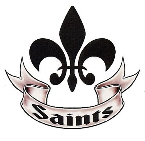 new orleans saints tattoo 20 best images about sports temporary tattoos on