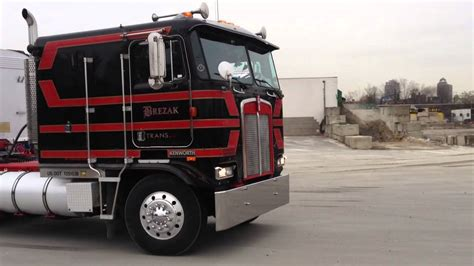 kw cabover kw cabover with dump trailer