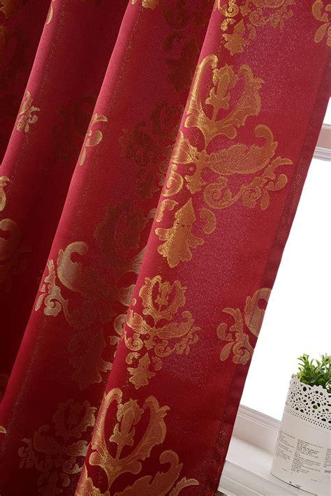 gardinenstange gold glanzend vorhang jacquard gardine schlaufen barock lurex garn