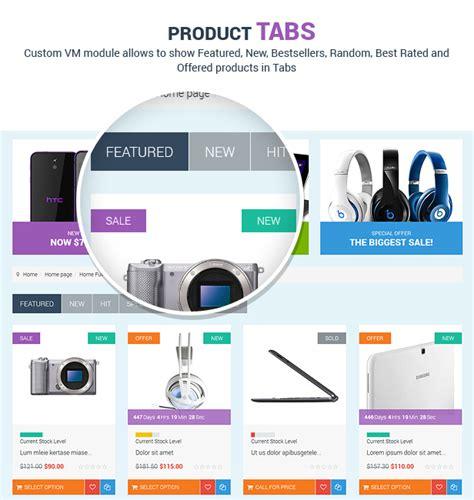 product layout virtuemart homeshop responsive multipurpose virtuemart theme cms