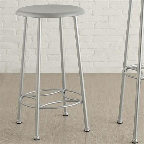 Whitman Industrial Counter Stool by Carolina Cottage Whitman 24 In Chrome Bar Stool Cf2417
