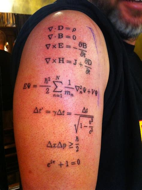 physics tattoo 35 physics tattoos ideas