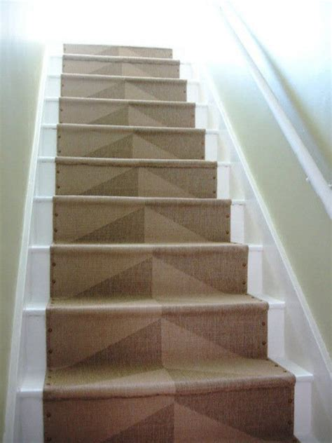 Brass Tacks Ikea Stair Runner Loft Cottage Apartment Therapy | brass tacks ikea stair runner runners cottages and stairs