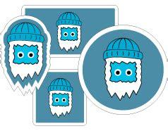 Gratis Aufkleber Von Firmen by Stickeryeti Druckerei Aufkleber Stickers