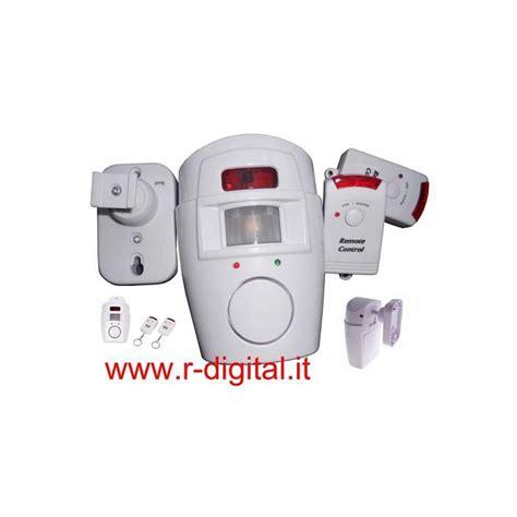 kit antifurto casa wireless allarme antifurto casa wireless kit sensore sirena