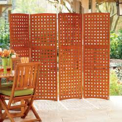 sichtschutz stellwand terrasse 4 panel yard privacy screens privacy patio screen