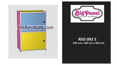 Lemari Serbaguna Olympic rsg 092 rak lemari serbaguna 2 pintu bigpanel harga promo