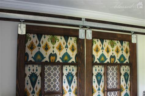 how to hang a door as a headboard how to build a barn door headboard