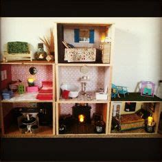 how to house a using a crate 1 6 scale dollhouses on house dollhouses and house