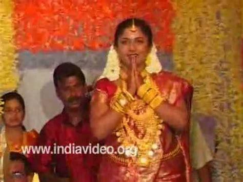 hindu wedding welcoming the bride youtube