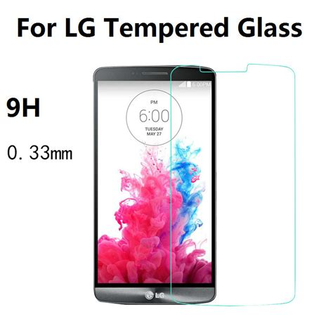 Sale Kingkong Tempered Glass 9h For Lg G3 Original 0 33mm 9h premium tempered glass for lg g2 g3 stylus g3s