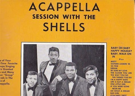 gus geter rare doo wop lp the shells sing acapella on snowflake 1000