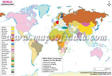 world map with country names in language world language map world map with spoken languages