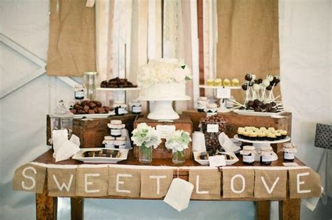 how to create a rustic dessert table for your barn wedding 16 rustic wedding dessert table ideas wedding