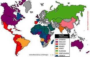 Language Map Of The World language maps linguistic economy geography climate