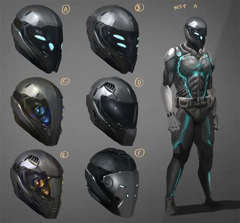 design helmet concepts 1000 images about sci fi character reference on pinterest
