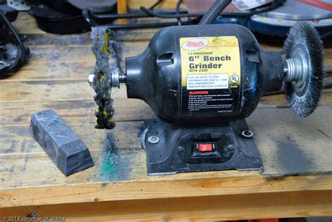 grizzly bench grinder tool restoration i sorby tenon saw part 3 the bench