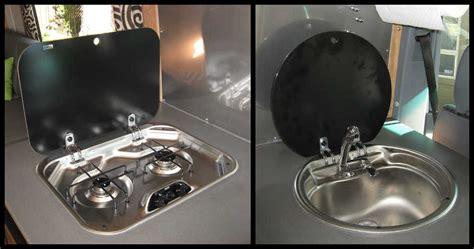 european style rv cooktop rv sink