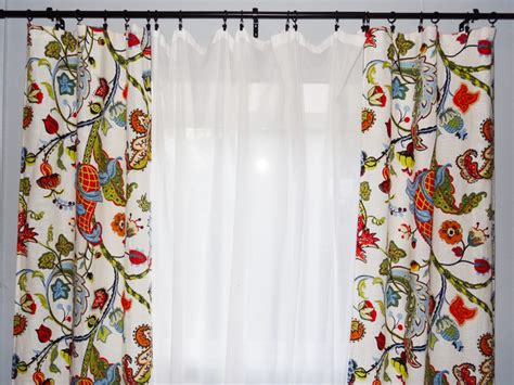 how to sew simple curtains sew a pair of easy sag top curtains