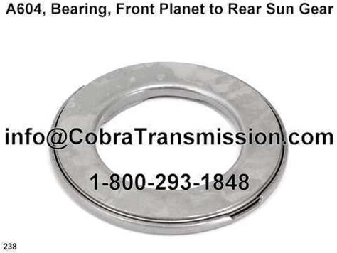 planet dodge parts a604 bearing front planet to rear sun gear d92238