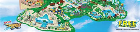 six flags texas park map park map six flags texas